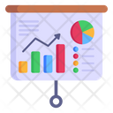Data Analysis Data Presentation Business Presentation Icon
