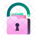 Data Privacy Insecure Data Unsafe Data Icon