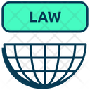 Data Privacy Legality Goverment Law Icon