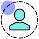 Data Privacy User Protection User Security Icon