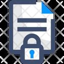 M Data Privacy Data Privacy File Privacy Icon