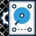 Data Process Hard Icon