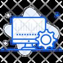 Data Automation Data Integration Data Processing Icon