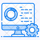 Data Processing Data Execution Data Configuration Icon