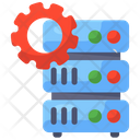 Data Processing Data Management Database Management Icon