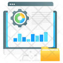 Data Processing Data Configuration Data Setting Icon