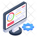 Data Management Data Processing Data Configuration Icon