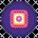 Data Processor Micro Processor Processor Chip Icon