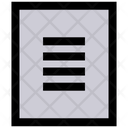 Data Product Data Storage Icon