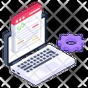 Web Development Data Programming Web Coding Icon