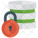 Data Safety Datacenter Data Protection Icon