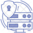 Data Protection Network Security Secure Database Icon