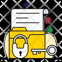 Data Encryption Data Security Data Protection Icon