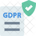 Data Protectionv Data Protection Gdpr Icon