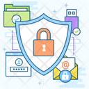 Data Protection Data Security Data Lock Icon