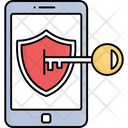 Data Protection Mobile Antivirus Mobile Safety Icon