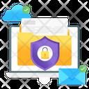 Data Safety Data Protection Folder Lock Icon