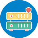 Data Protection Dataserver Protection Network Protection Icon