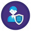 Data Protection Officer Dpo Dpo Data Protector Icon