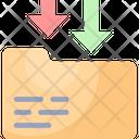 Data Receive Folder Receive Icon