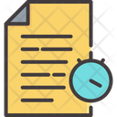 Data Report Business Analysis Icon