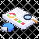 Data Analysis Data Report Data Assessment Icon