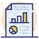 Data Reporting Business Statistics Data Analytics Icon