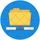 Data Repository Data Sharing Share Folder Icon