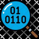 Data Research Binary Search Icon