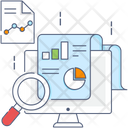 Data Analytic Business Research Data Analysis Icon