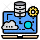 Reseach Artificial Intelligence Icon