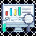 Data Explore Data Research Data Examine Icon