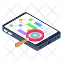 Data Analysis Data Statistics Data Research Icon
