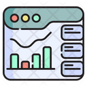 Data Research Data Information Icon