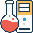 Data Research Network Icon