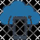 Data Restore Data Sync Mobile Data Backup Icon