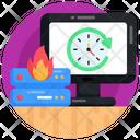 Data Recovery Data Restore Data Reboot Icon