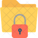 Data Safety Folder Folder Security Icon