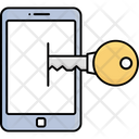 Data Safety Mobile Access Mobile Authorization Icon