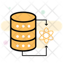 Data Science Data Research Database Icon