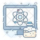 Data Science Big Data Science Database Technology Icon