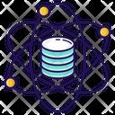 Data Science Database Data Storage Icon