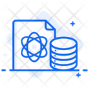 Data Science Data Visualization Database Analytics Icon
