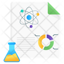 Data Science Chemical Science Lab Report Icon