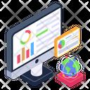 Data Analytics Data Science Data Processing Icon