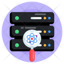 Data Science Hosting Data Science Technology Data Science Analysis Icon