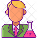 Data Scientist Scientist Data Icon