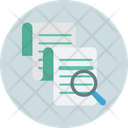 Data Search Document Management File Search Icon