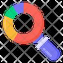 Data Analysis Data Search Data Examine Icon