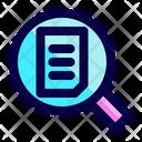 Data Paper Document Icon